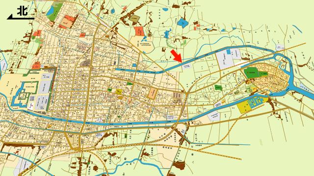 明治43年地図