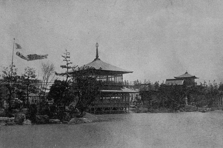 金閣寺模型