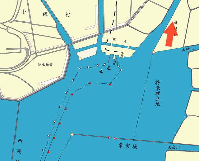 名古屋港の浚渫作業