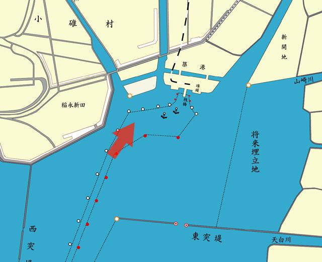 ロセッタ丸入港
