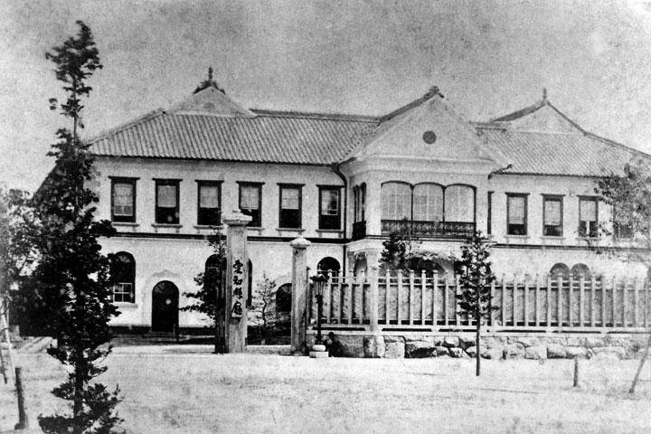愛知県庁 明治11年南久屋町