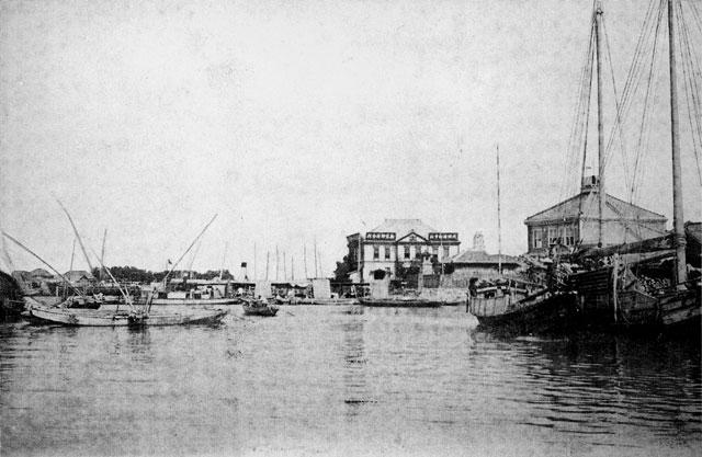 明治中頃の熱田港