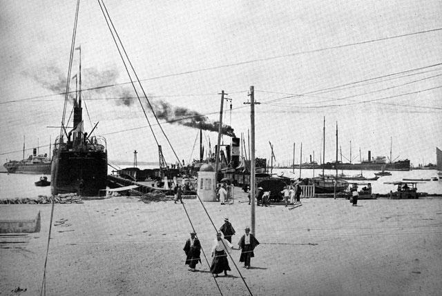 名古屋港の開港 明治43年