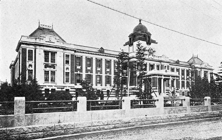 大正時代11年名古屋控訴院竣工