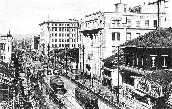 昭和初期の広小路