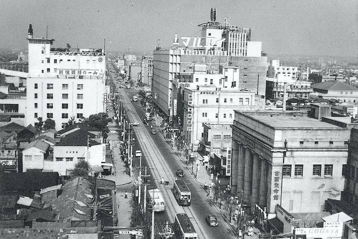 30年代末の広小路