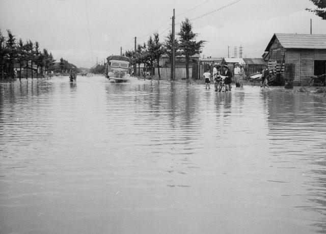 伊勢湾台風(昭和34年)-名古屋都市センター所蔵の原版をデジタルリマスター