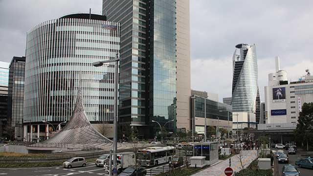現在の名古屋駅前