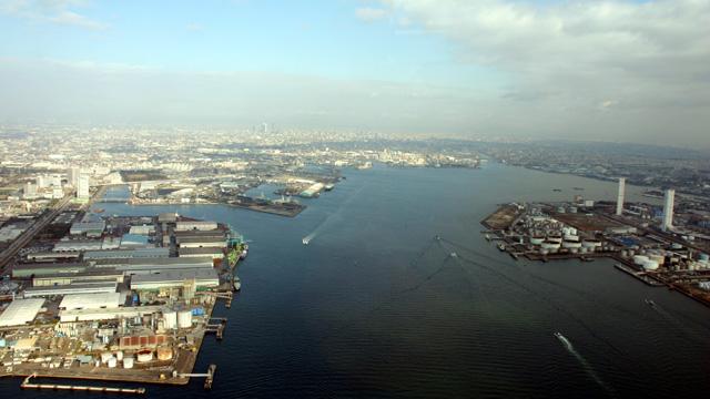 現在の名古屋港