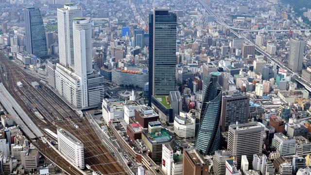 現在の風景 名古屋駅周辺-名古屋市広報課提供