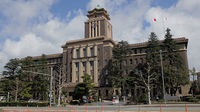 現在の名古屋市役所