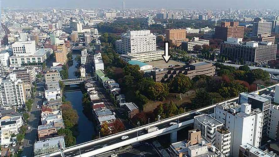 現在の風景(愛知県図書館)