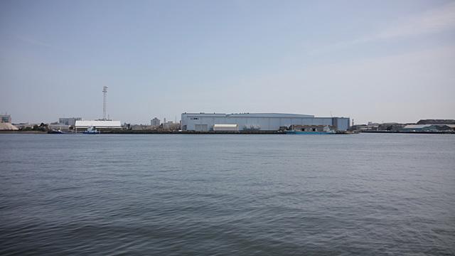 現在の風景 現在は名古屋航空宇宙システム製作所となっている。