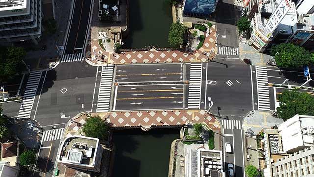 現在の納屋橋