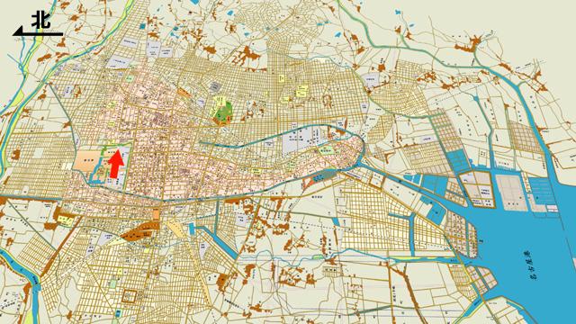昭和8年住宅地図
