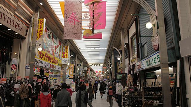 現在の万松寺商店街