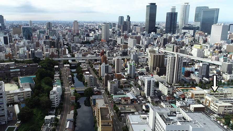 昭和8年頃の名古屋