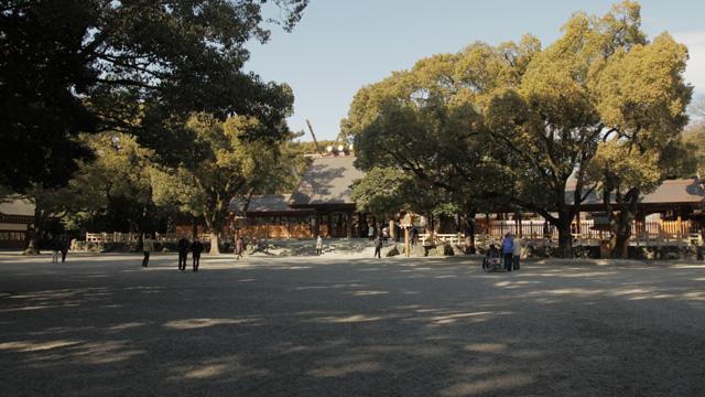 現在の熱田神宮本殿