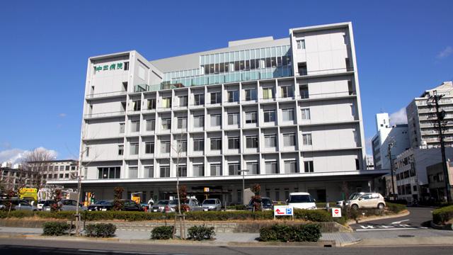 現在の風景(中日病院)