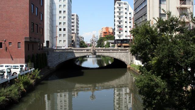 現在の風景 桜橋から撮影