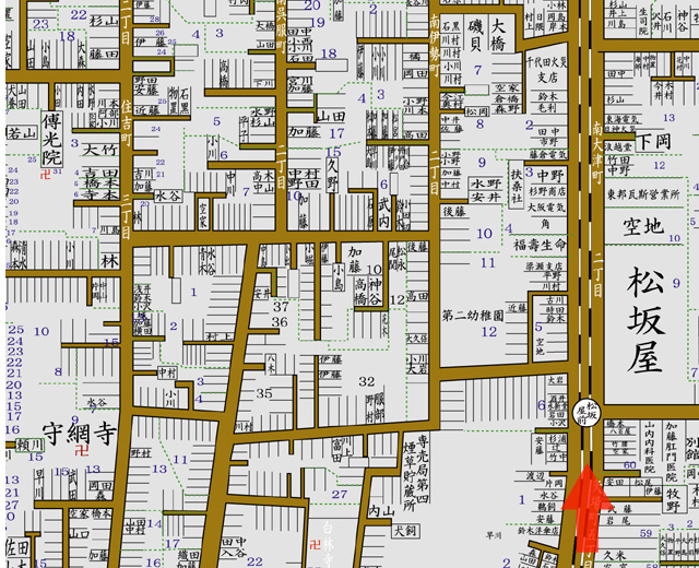 昭和8年 住宅地図