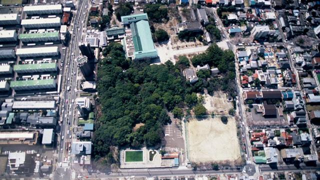 徳川園オープン前の様子(葵公園)