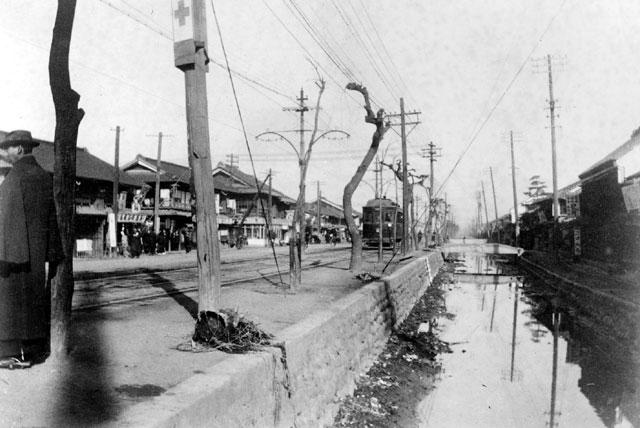 市電江川線