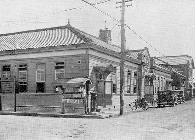 西川端町時代の区役所庁舎