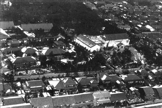昭和12年頃の徳川園航空写真
