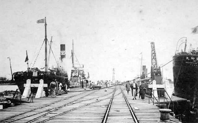 名古屋港(名古屋市市政資料館所蔵の原版をデジタルリマスター)