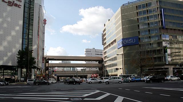 現在の笹島交差点