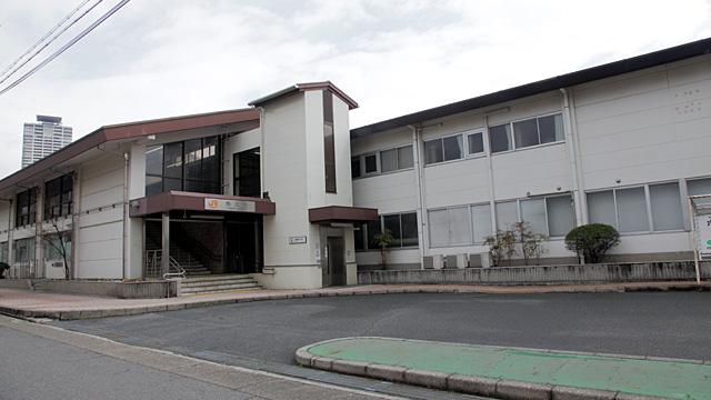 現在の風景 駅舎