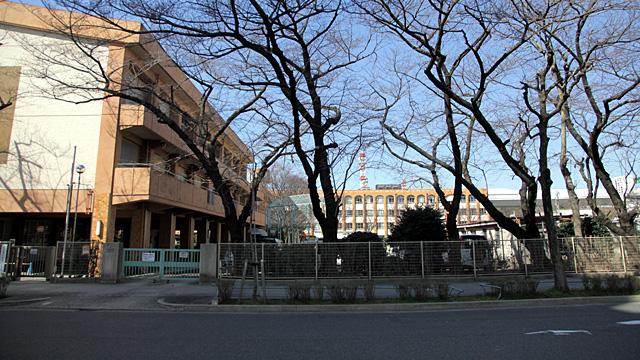 現在の風景 名城小学校