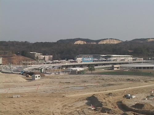 2006年3月 会場の撤去風景