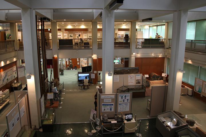 下の階は常設展示のエリア