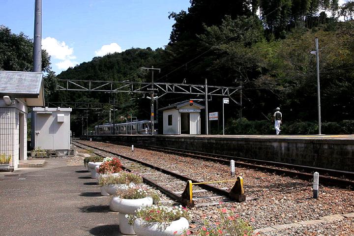 JR飯田線 東栄駅ホ-ム
