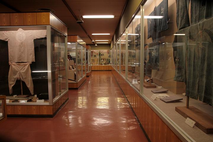 花祭会館2階展示室