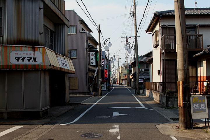 木曽川町の岐阜街道