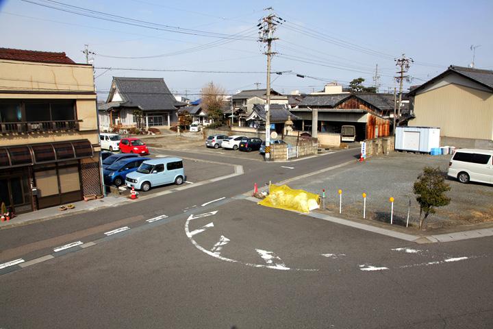 西本願寺笠松別院と岐阜街道
