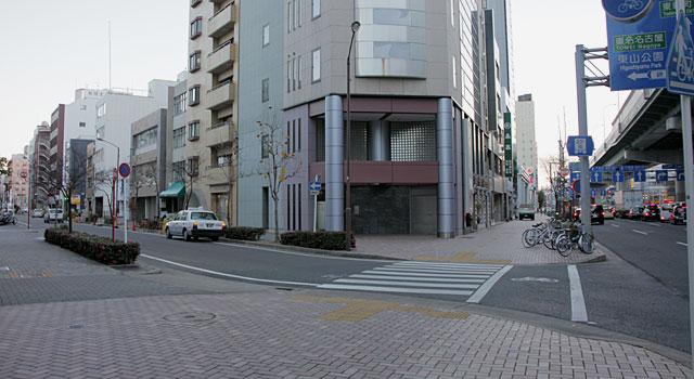 飯田街道起点 駿河町