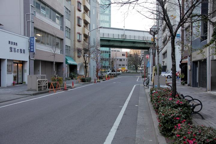 飯田街道起点