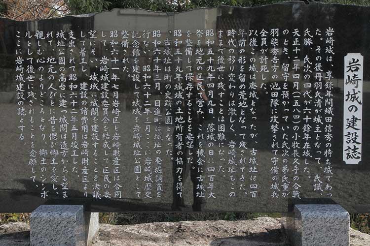 岩崎城の解説