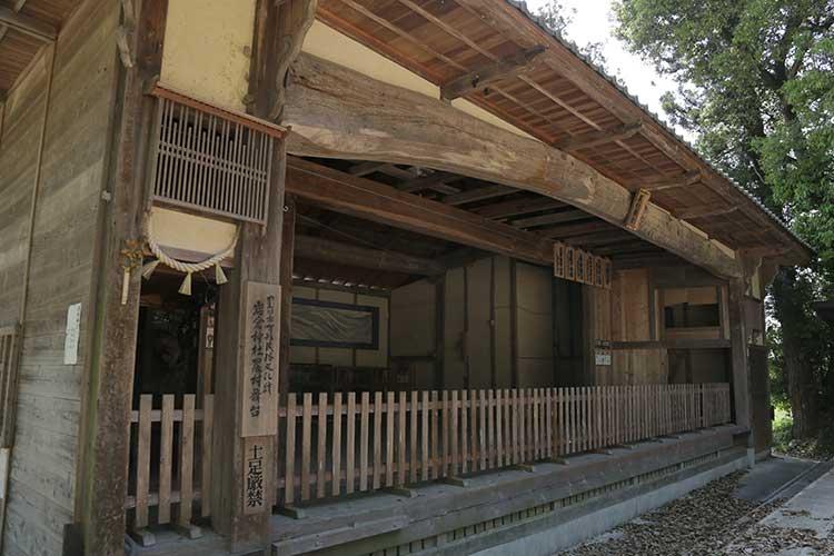 岩倉神社舞台