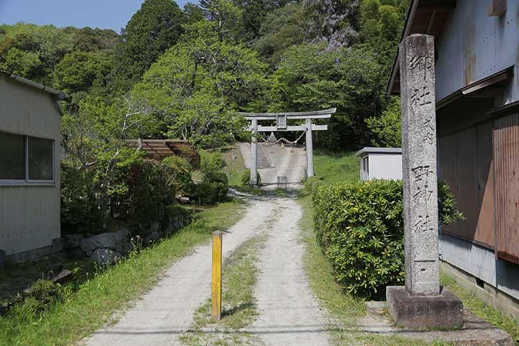 埜神社(野口)一の鳥居