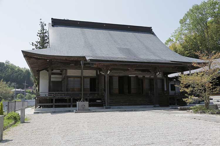 増慶寺本堂