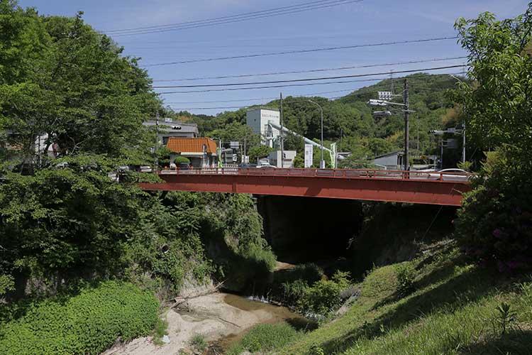 飯田街道が通る橋