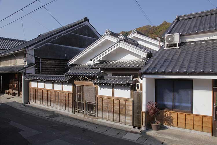 飯田街道の町並み