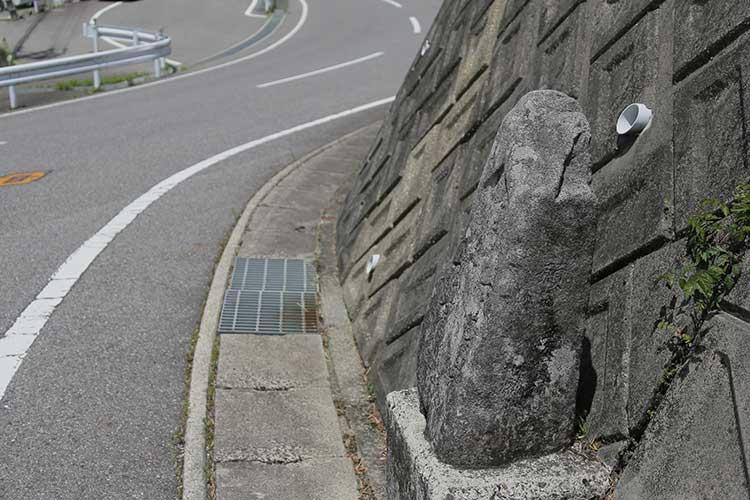 千田の道標