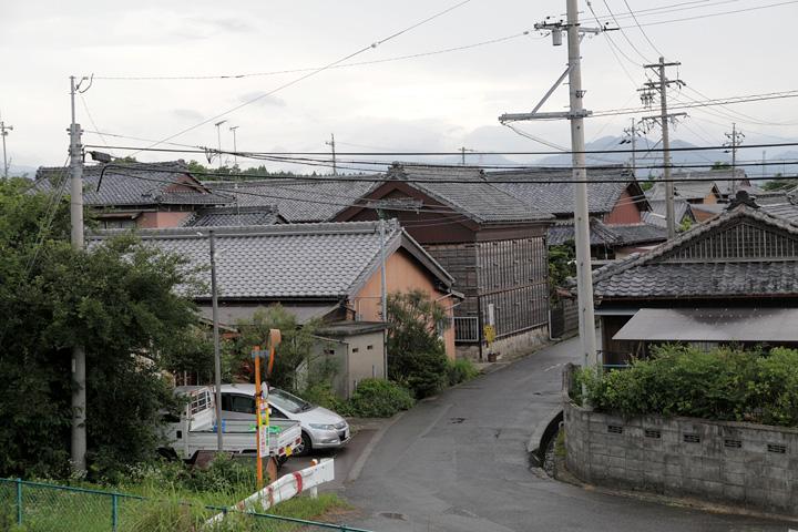新立寺付近の町並み