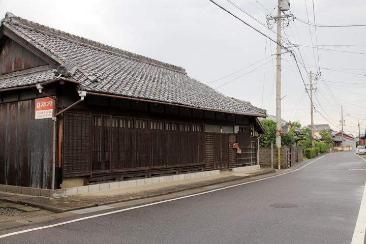椋本宿東入口付近